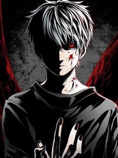 anime, tokyo ghoul, and kaneki ken image Ken Anime, Anime Neko, Anime Guys, Manga Anime, Anime Art, Evil Anime, Tokyo Ghoul Wallpapers, Cool Anime Wallpapers, Animes Wallpapers
