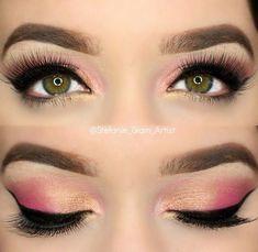 Pink eyeshadow #pinkeyeshadows