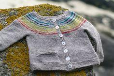Ravelry: Demoiselle Arc-en-ciel (Little Miss Rainbow) pattern by Solenn Couix-Loarer