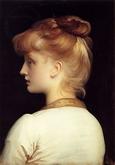 Lord Frederick Leighton, A Girl. Art Experience NYC www.artexperiencenyc.com/social_login/?utm_source=pinterest_medium=pins_content=pinterest_pins_campaign=pinterest_initial
