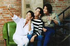 Ufufu, look at this co-star bts cuteness! Lee Joon G,i Nam Joo Hyuk, Kang Ha Neul Scarlet Heart Ryeo
