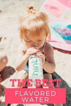 Just a Beach Party // flavored water //  @hint #drinkhint #hintwater #hintsunmist #sprayhint #ad