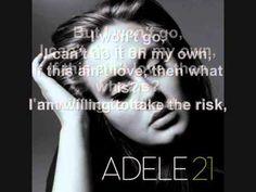 Adele - He Won't Go + Lyrics