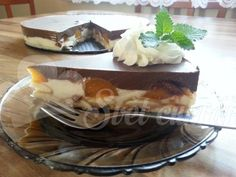 RECEPT: Tvarohový dort Míša - český cheesecake - Svět cukrářů Waffles, Pancakes, Cheesecake, Sweet Recipes, Tiramisu, Deserts, Ice Cream, Pudding, Breakfast