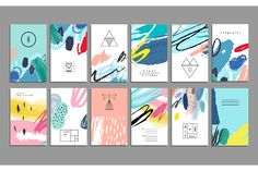 Card Templates Product Images ~ ART from the heA… ~ Creative Market Art Business Cards, Business Card Design, Creative Business, Collage Template, Card Templates, Folders, Watercolor Design, Branding Design, Identity Branding