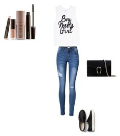 """""""Untitled #757"""" by feral-heart ❤ liked on Polyvore featuring Gucci and Laura Mercier"""
