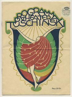 Programma Theater Tuschinski, Elias Ott 1924