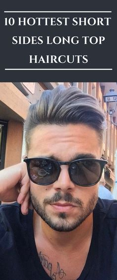 Here The Best 10 Hottest Short Sides Long Top Haircuts. Haircuts For Wavy Hair, Cool Haircuts, Haircuts For Men, Haircut Men, Popular Haircuts, Fade Haircut, Curly Hair, Undercut Men, Undercut Hairstyles
