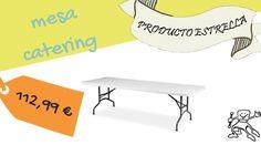 Mesa de catering #eventos #oferta
