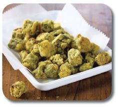 Oven-Fried Okra - Heart Healthy Recipe - Heart & Vascular Center - Barnes-Jewish Hospital
