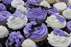 Hairstylist Cupcakes by Punkie Pies