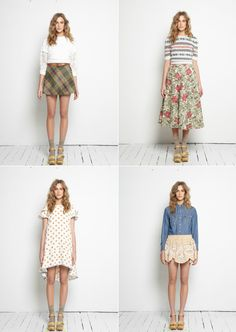 An adorably quirky Autumn/Winter collection from Arabella Ramsay.