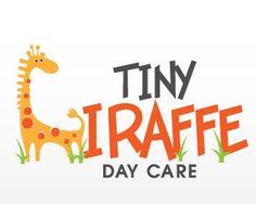 Tiny Giraffe Day Care| BrandCrowd