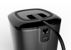 Sonos Play 1 by Colin Jackson, via Behance