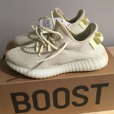 f90643385b4 adidas Yeezy Boost 350 V2 - Butter (CP9366)  fashion  clothing  shoes