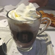 Very thick and very tasty, much like a Milano hot chocolate from cafe Nero   BITE Bakery Café in Budapest, Budapest