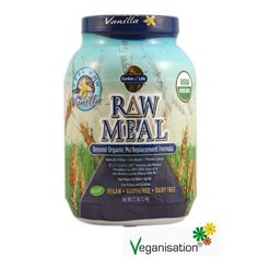 Garden of Life Organic Raw Meal - 1,1 kg http://www.veganisation.de/Garden-of-Life-Organic-Raw-Meal-Mahlzeitenersatz