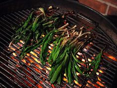 Grilled Ramps