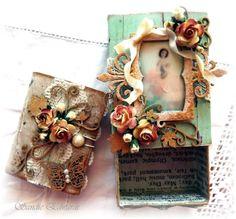 The Fairies Shadow Box and a Match Box Mini Album - Imaginarium Designs
