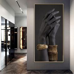 Canvas Wall Art, Wall Art Prints, Canvas Prints, Staircase Wall Decor, Feng Shui, Golden Jewelry, Canvas Pictures, Female Art, Art Paintings