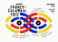 Identité visuelle pour la Saison France Colombie 2017 - Projet non retenu