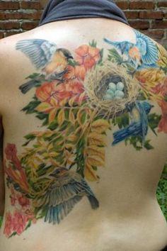 Feminine Back Tattoos   Inked Magazine