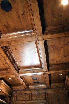 From coffered and vaulted to simple plank boards, discover the top 60 best wood ceiling ideas. Explore cool and unique wooden interior designs. Wooden Ceiling Design, Wood Interior Design, Wooden Ceilings, False Ceiling Design, Interior Decorating, Interior Ideas, Porch Ceiling, Ceiling Beams, Ceiling Lighting