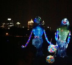 Lantern Parade on the Atlanta Beltline.