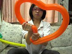 aCARD造型氣球教學 愛心