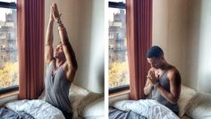 Yoga teacher Justin Michael Williams shares a quick and powerful method for counting your blessings before you even get out of bed.
