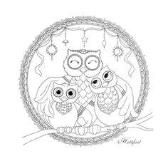 Las 871 Mejores Im 225 Genes De Coloring Owls Buho Dibujo