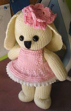 Honey Bunny by Yvonne Boucher #free_pattern