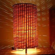 Bamboo lamp rustic lamps bamboo lamp cover romantic floor lamp bamboo lighting bamboo lights