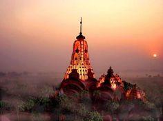 West Bengal India Starts Largest Hindu Temple. Copyright Holder - ABF foundation
