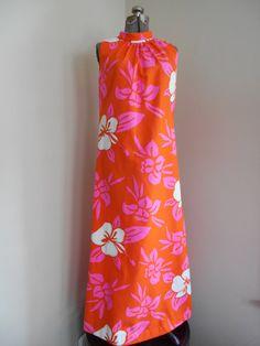 Vintage 1960s Dress// 60s Halter Top by RockabillyRavenVtg on Etsy