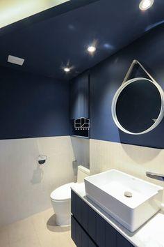 이국적인 느낌의 35평 빌라 인테리어: 홍예디자인의 화장실