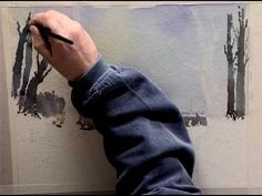 Watercolour Landscapes with Confidence - Part One - YouTube