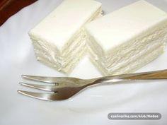 Bijela princeza - Kuhinja i ideje Serbian Cake Recipe, Torte Recipe, Croatian Recipes, Cake Roll Recipes, Frosting Recipes, Baking Recipes, Cookie Recipes, Dessert Recipes, Bulgarian Desserts