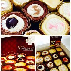 The Confectional mini cheesecakes from Seattle, Washington! Soooo good!!
