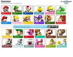 Mario kart Wii characters | Flickr - Photo Sharing!