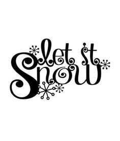 Let It Snow Metal Sign with Snowflakes - Black, Winter Decor, Christmas Decor, Snow, Christm Christmas Stencils, Christmas Vinyl, Christmas Quotes, Christmas Crafts, Christmas Decorations, Christmas Printables, Xmas, Black Christmas, Christmas Nativity
