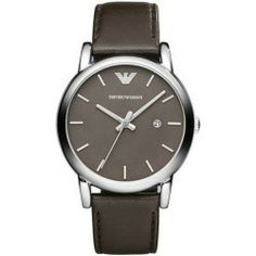 Cheap Emporio Armani Classic Brown Leather Mens Watch AR1729 new - Stainless steel case. Leather strap. Brown dial. Mineral crystal. Water resistant 30 meters. Case 41mm. Color: Brown Gender: Men Age: Adult Condition:...