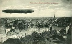 HANNOVER * 1912 Zeppelintag