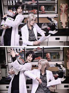 rinchansfavoritecosplays Koisuru Boukun:Tetsuhiro Morinaga & Souichi Tatsumi  Source [♥]