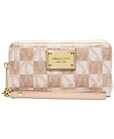 MICHAEL Michael Kors Jet Set Item Large Coin Multifunction Wallet