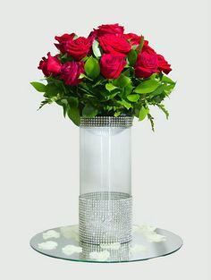 1000 images about centros de mesa para bodas wedding - Mesas de centro de cristal ...