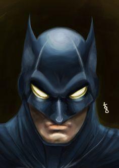 batman digitalpainting