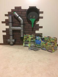 DIY Teenage Mutant Ninja Turtles Room