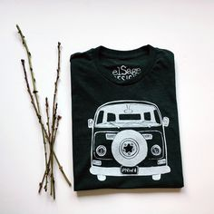 Van Love (PNW style) unisex tribled tee in charcoal