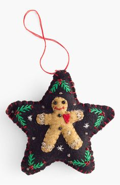 New World Arts 'Puffy Star with Gingerbread Man'